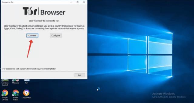 Соединение с сетью Tor на Windows